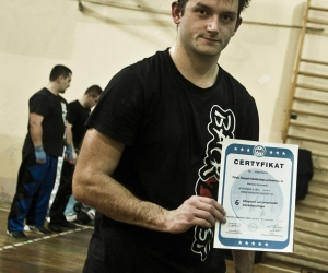 Egzamin na pasy w kickboxingu 2015