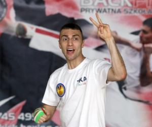 Pobyt Andrea Rinaldii - sztuki walki Kickboxing MMA