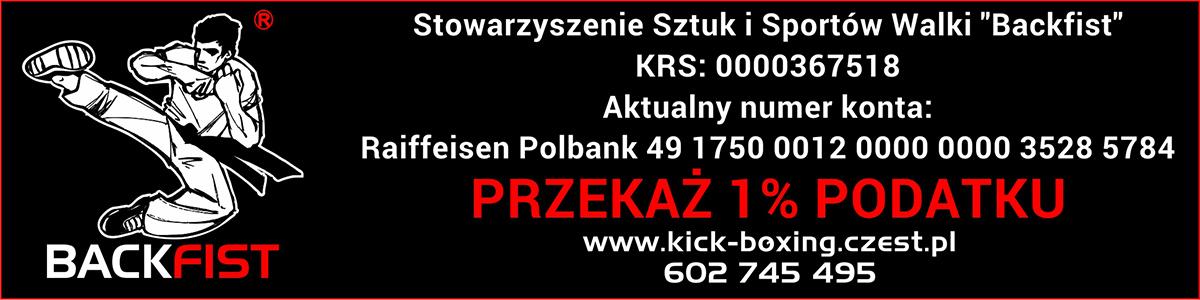 Stowarzyszenie Sztuk i Sportów Walki BACKFIST Częstochowa