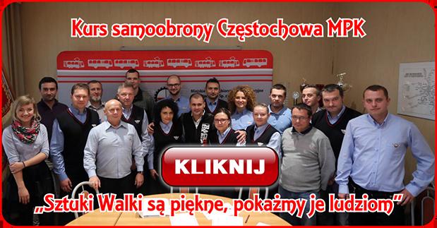 Kurs samoobrony Częstochowa MPK