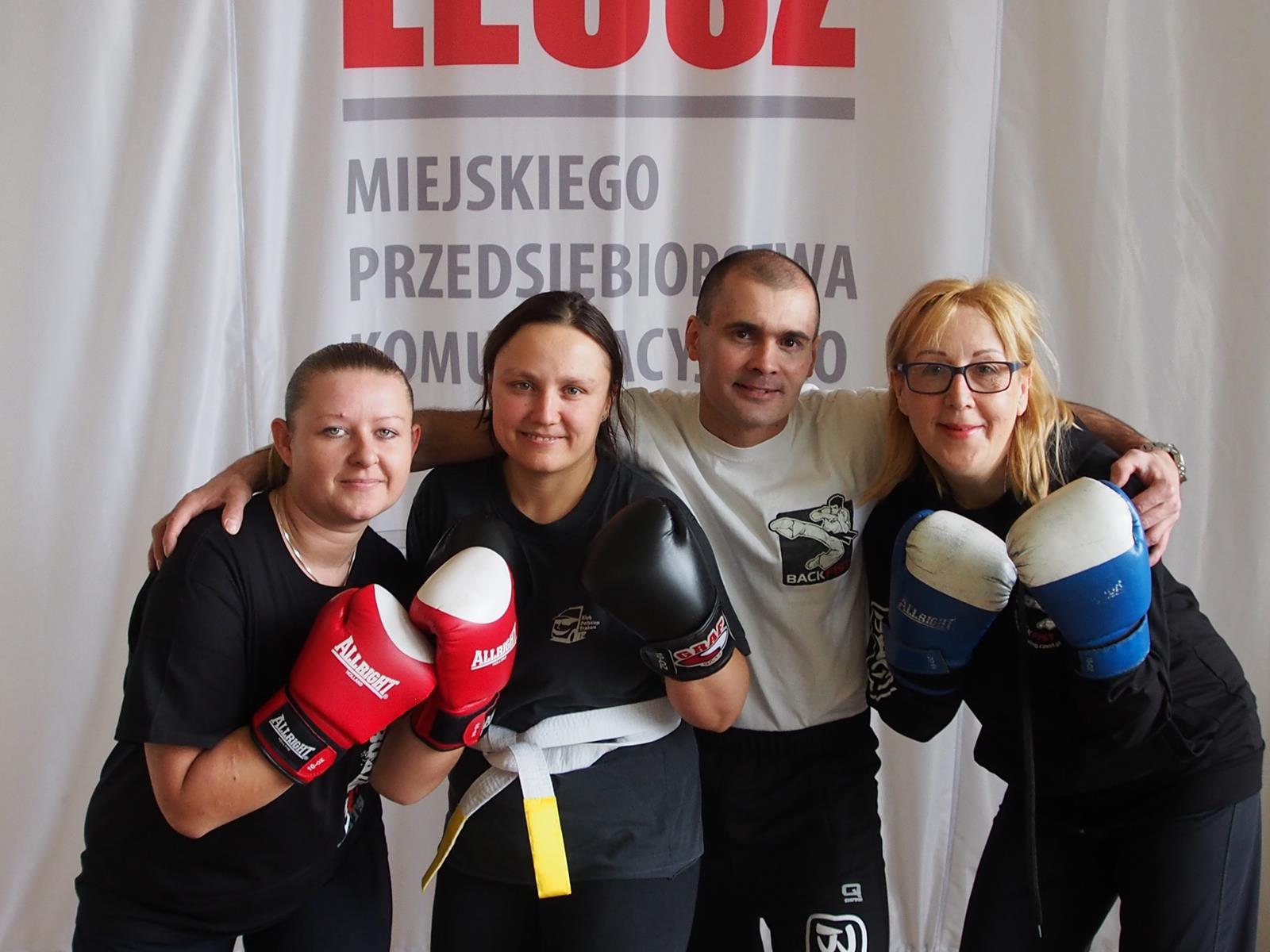 Egzamin w MPK na stopnie w kickboxingu