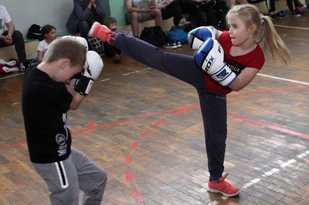 Egzamin na stopnie w kickboxingu 2017